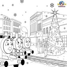 There are 30 train coloring sheet for sale on etsy, and they cost $4.58 on average. Train Thomas The Tank Engine Friends Free Games And Toys James Percy Christmas Coloring Sheets For Pages Merry Pictures Adults Elf Disney Oguchionyewu