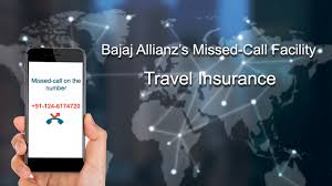 missed call feature in travel insurance