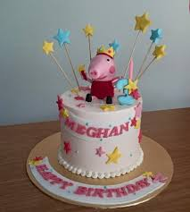 12 Cute Peppa Pig Birthday Cake Designs Recommendmy Living