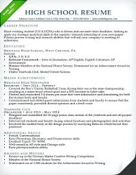 Sample High School Resume For College Admission Best of High School Resume For College Application Template Top Rated