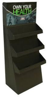 In Store Display Stands Custom Corrugated Cardboard Display Stands Floor Displays 14