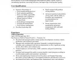 Quality head resume