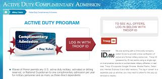 login page military