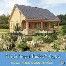 China Low price Fast Assembled prefabricated small wooden house timber  frame homes modular house