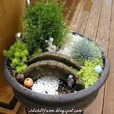 diy fairy garden in a container