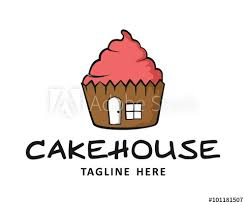 Cake House Bakery Logo Buy This Stock Vector And Explore Similar