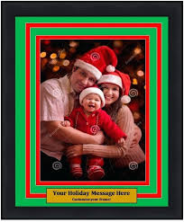 holiday photo frames dynasty customized holiday photo picture frame kit vertical dynasty sports framing holiday picture holiday photo frames