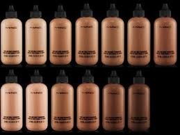 Mac Nc Color Chart 13 Perspicuous Mac Foundation Swatches