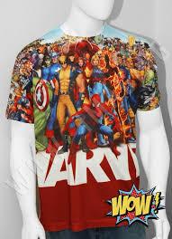 Marvel Anthology All Characters T Shirt Ltd Ed _comic Con Avengers X Men Etc