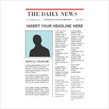 A Newspaper Article 9 Newspaper Report Templates Docs Pdf Pages Free Premium
