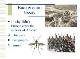 the age of imperialism standard describe the rise of industrial  background essay 1 why didn t europe enter the interior of africa