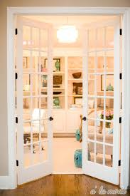 contemporary home office sliding barn. office classic white double french doors looks clean and chic leading into a feminine home contemporary sliding barn