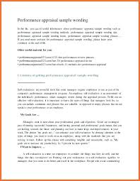 Job Evaluation Template Performance Form In Word And Formats