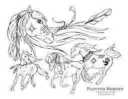 Small Picture Printable Fun January Horse Craft and Adult coloring