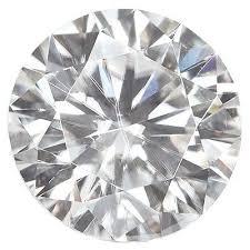 MOISSANITE, True Light™ G-H <b>Color 7.5 MM</b> ROUND DIAMOND ...