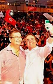 Resultado de imagem para Roberto Rocha ao lado de Flávio Dino