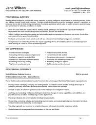 Intelligence Analyst Resume