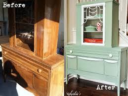 Milk Paint Kitchen Cabinets Sophias Lucketts Green Milk Paint Cabinet