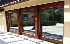 large sliding patio doors: wood sliding glass patio doors with sliding glass door locks stunning large sliding glass doors