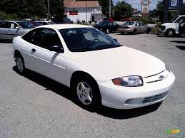 2003 Olympic White Chevrolet Cavalier Coupe #13662221 | GTCarLot ...