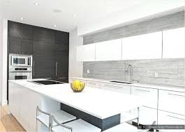 modern white kitchen. Modern White Kitchen Brilliant Round Table .