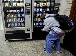 Healthy Choice Vending Machines Adorable Forcing People At Vending Machines To Wait Nudges Them To Buy