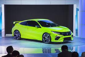 2016 Honda Civic Concept - 2015 New York Auto Show - YouTube
