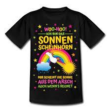 Simsalapimp Sonnenscheinhorn Mit Spruch Sonne Aus Dem Arsch