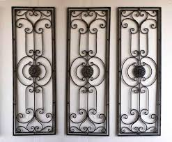 popular wrought iron wall decor home