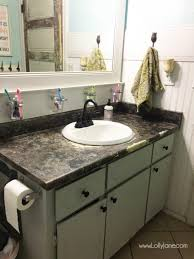 i chalk painted my countertops lolly jane with replace bathroom countertop designs 37 how