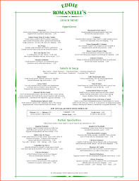 Menu Templates Microsoft Word 24 Italian Menu Template Survey Template Words 10