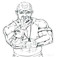 John Cena Coloring Pages Printable John Printable Coloring Pages