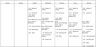Assisted Living Activity Schedule Lakewood