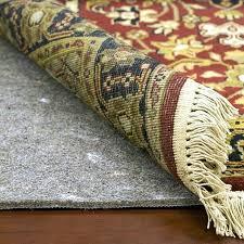 diy rug pad carpet rug pads in grey diy felt rug pad