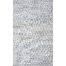 white woven rug woolen cable hand light gray area rugs