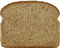 100 whole wheat bread slice image
