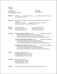 Curriculum Vitae Templates For Microsoft Word Free