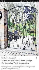 decorative garden gates. Metal Garden Gates \u2013 Wrought Iron Or Modern Designs? Decorative