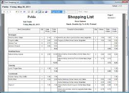 Shopping Spreadsheet Laurie Anns Coupon Tracker Screen Shot Shopping List
