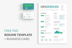 Resume Business Cards Magnificent Free Resume Business Card Free Design Resources