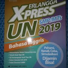 Masih ada waktu bagi kamu untuk terus belajar dan berlatih. Jual Produk Xpress Un 2019 Bahasa Inggris Murah Dan Terlengkap November 2020 Bukalapak