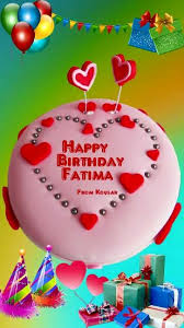 Happy Birthday To Fatima