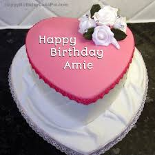 ❤️ Birthday Cake For Amie