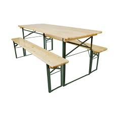 festival trestle table and benches