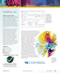 Multiphysics Simulation By Design For Electrical Machines Design World January 2018 Leadership Pages By Wtwh Media Llc