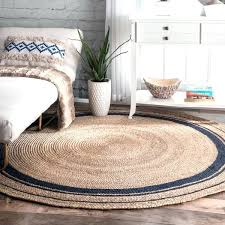blue round area rugs amp braided blue jute area rug round light blue area rugs 8x10