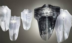 famous lighting designer. avia u0026 aria fixtures designed by zaha hadid for slamp famous lighting designer