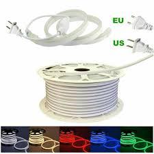 Bird Dog Rope Lights Led Neon Strip Light 2835 120led M Waterproof Rope Wire Light Ac110v Ac220v