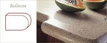 quartz countertops edges natural stone edge profiles chicago niles for countertop edging idea 18