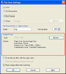 Scanning Directly To A Pdf File